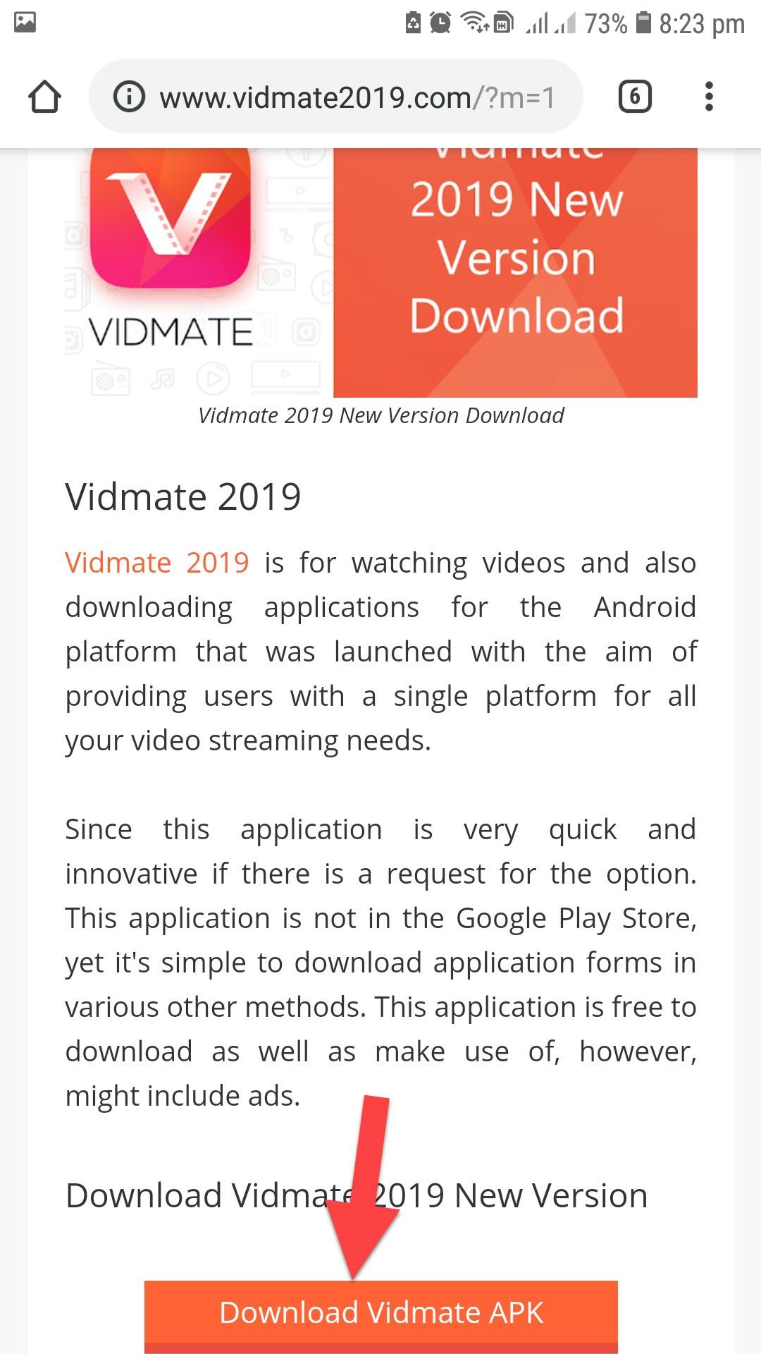 Vidmate apk download from google play store   Vidmate 3 42 APK Free