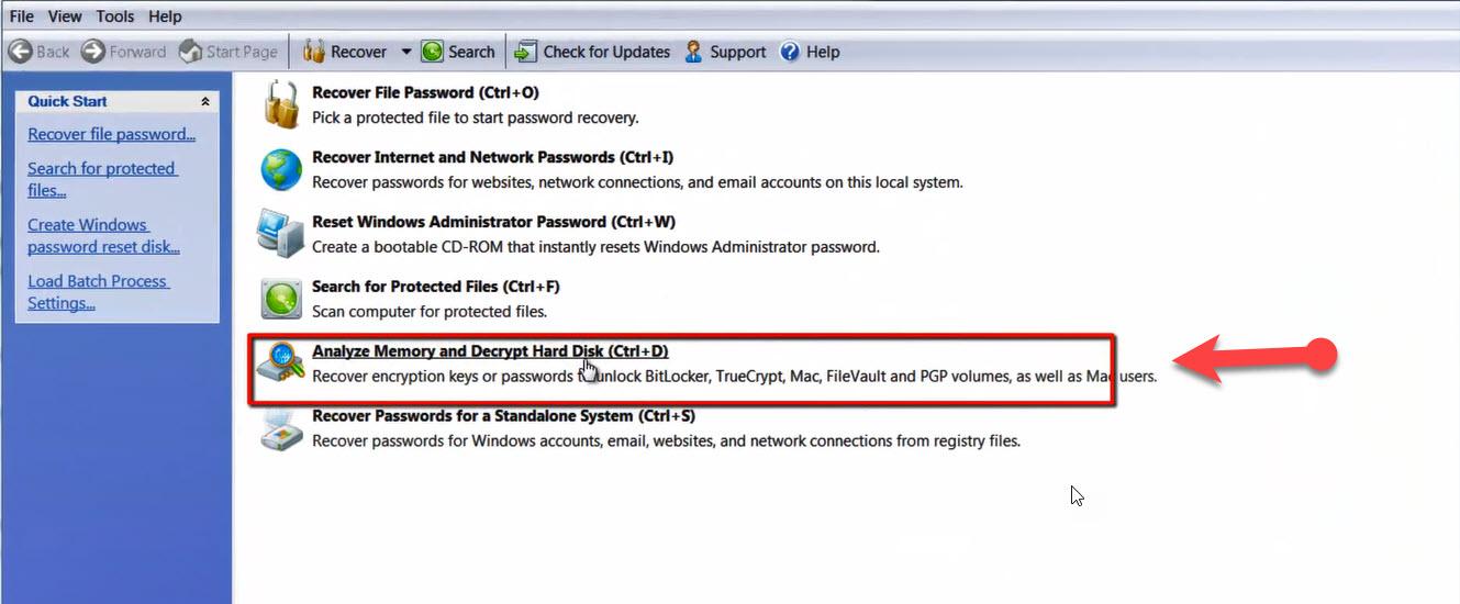 password kit forensics