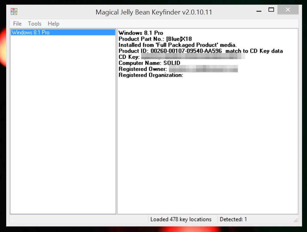 Windows product key