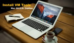 How to install VMware Tools on Mac OS X EL Capitan on VMware
