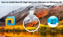 How to install MacOS High Sierra on VMware on Windows 10