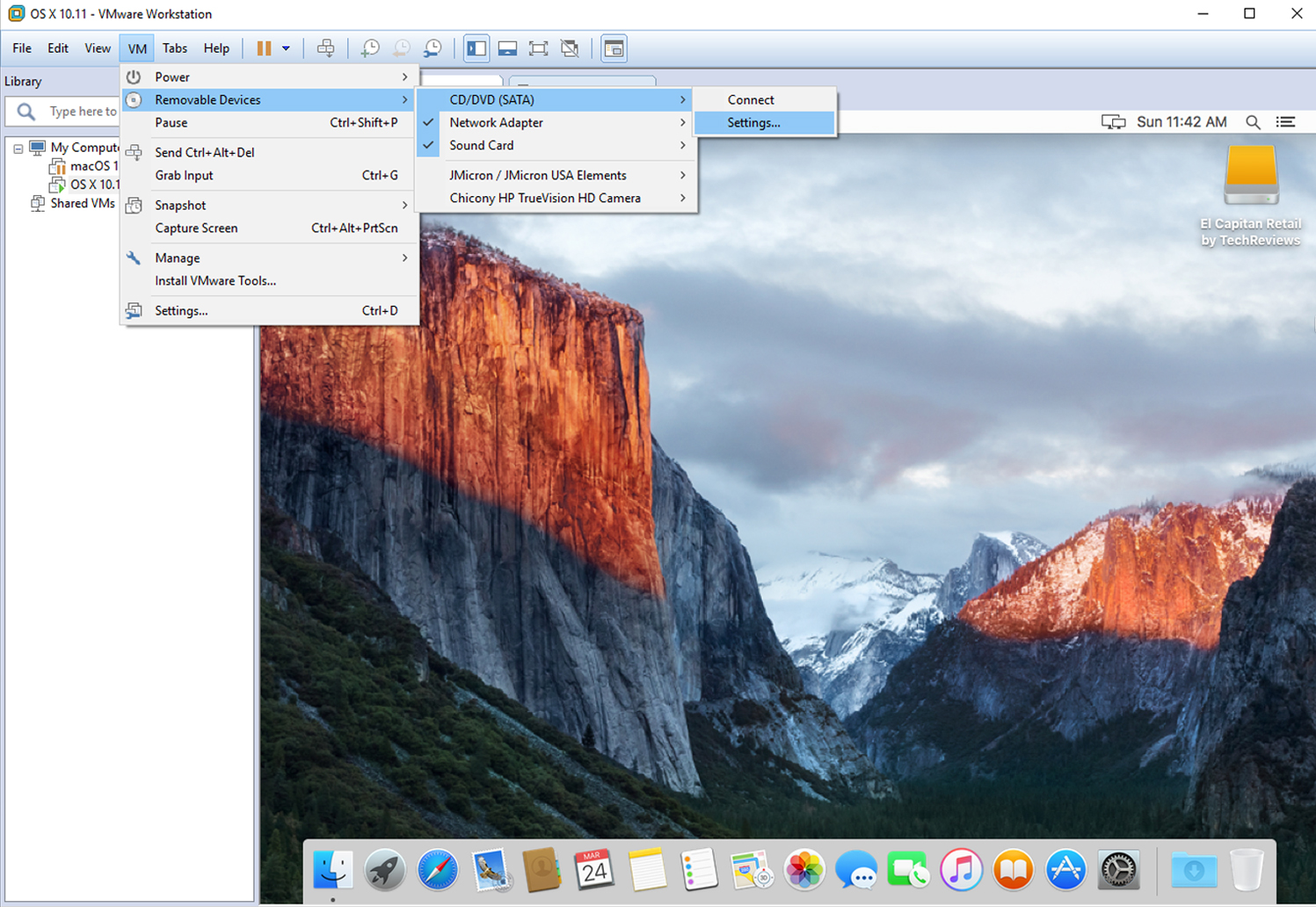 download mac os x el capitan iso for vmware