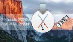 How to create Bootable USB for Mac OS EL Capitan on Windows