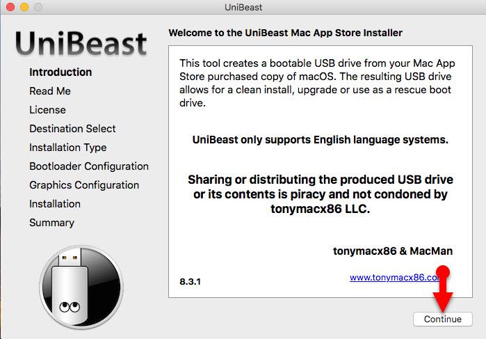 how to create a bootable usb drive mac high sierra