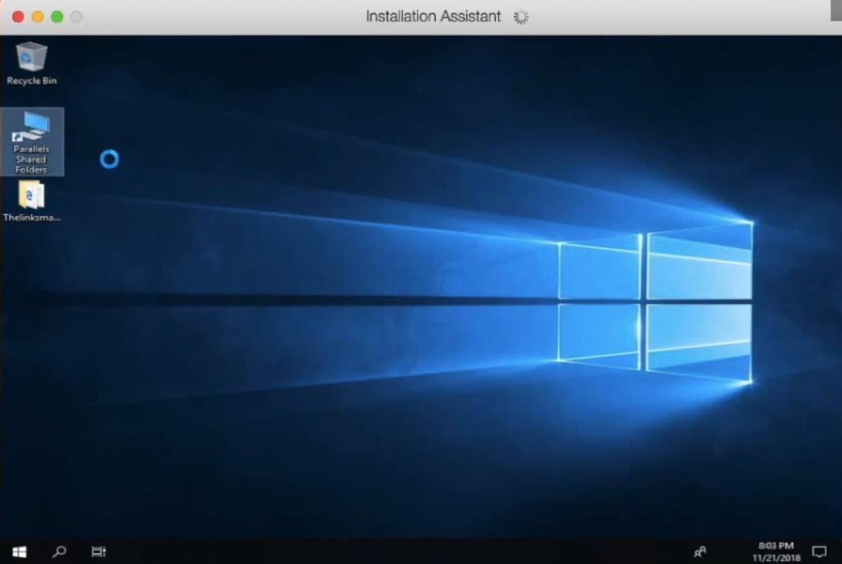 Windows 10 on Mac