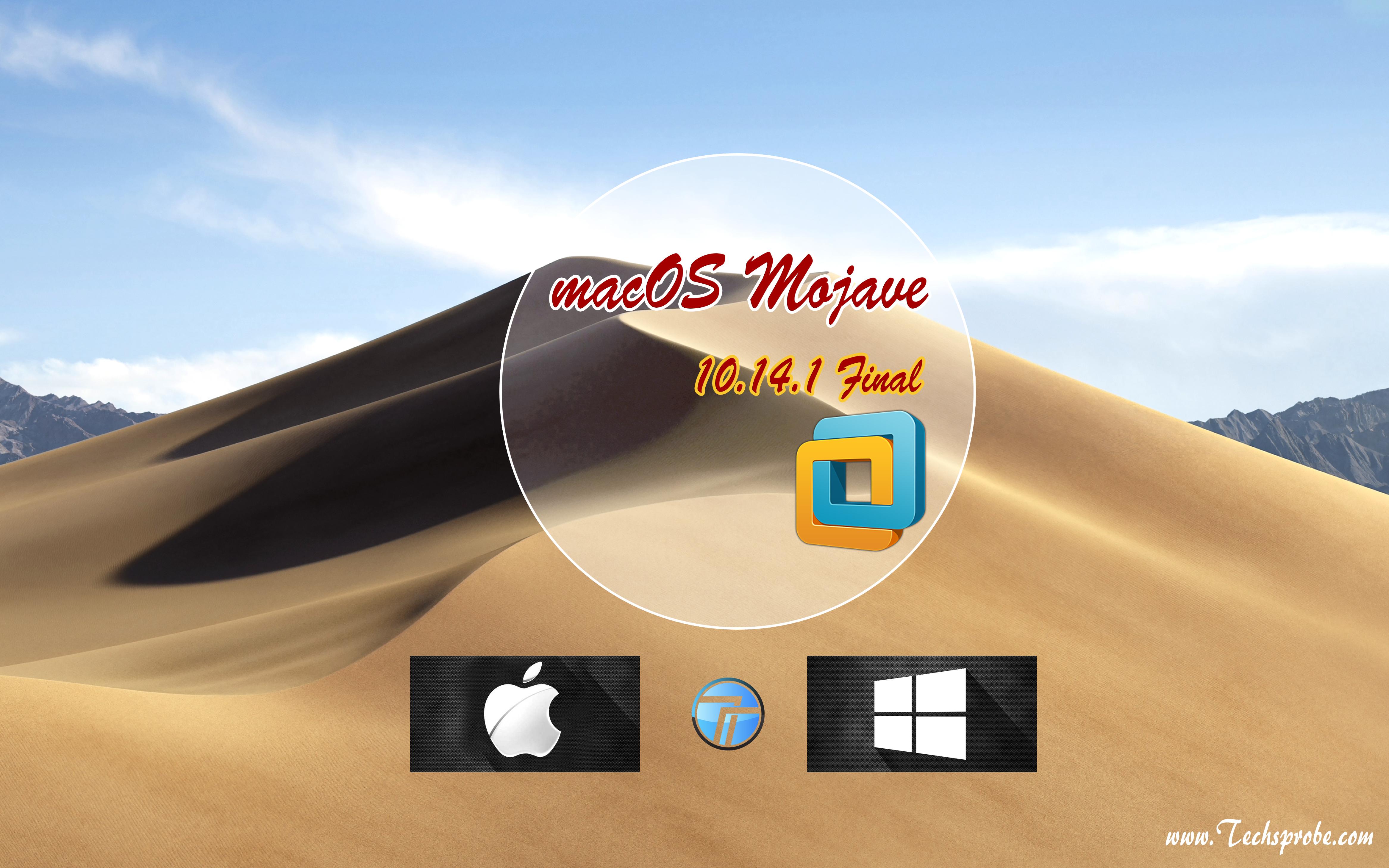 install macOS Mojave 10.14.1 on VMware